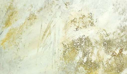 Die Farbe Weiß mit einem Hauch von Rost