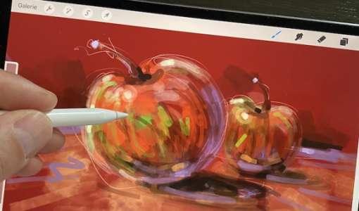 Mit dem iPad&Procreate Malen & Zeichnen lernen