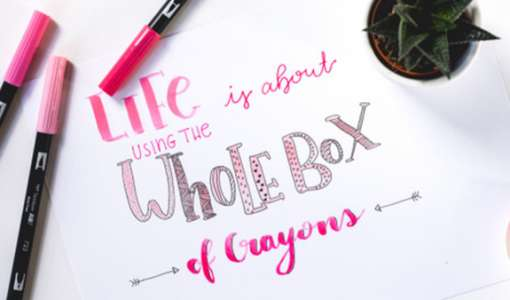 Lettering – Summer Vibes