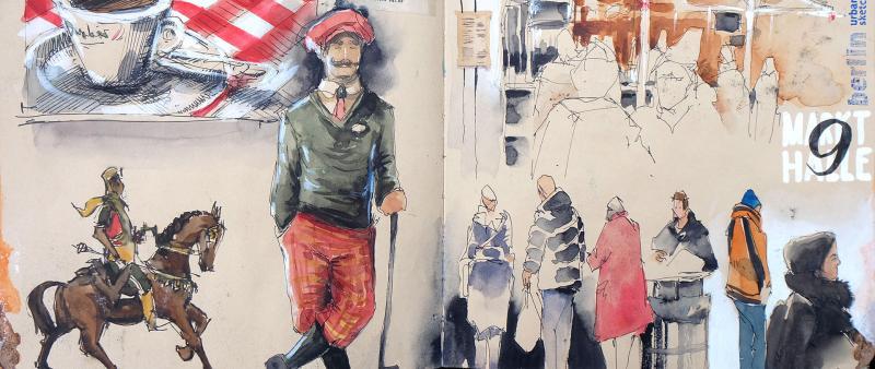 Figuren sketchen – Flott und frei
