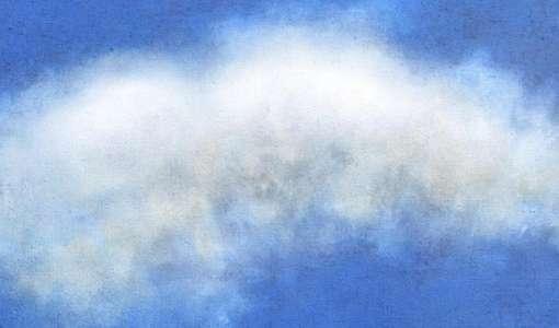 Wolken malen – mit experimentellen Techniken