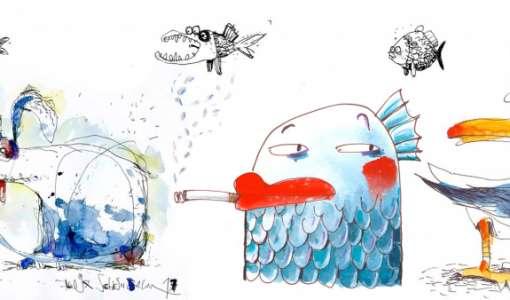 Lustige Tierchen und schrille Vögel – Kompaktworkshop