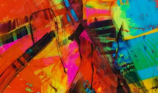 Malen auf Acrylglas - Hinterglas