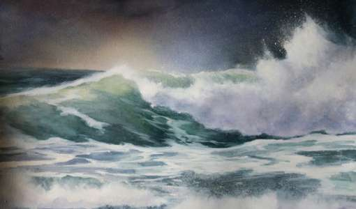 Wellen, Meer und Weite