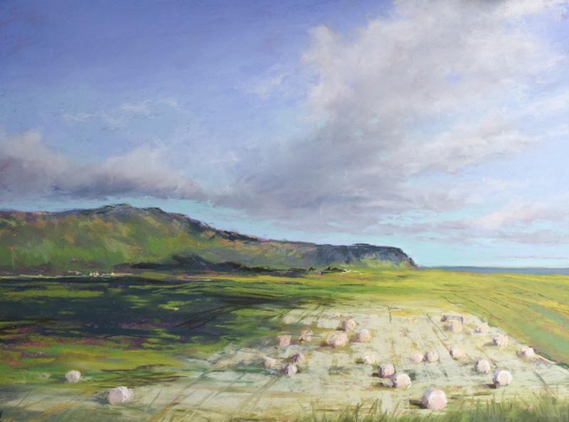 Locker, leicht, expressiv: Himmel und Wolken in Pastell