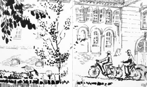 Monochromes Sketching