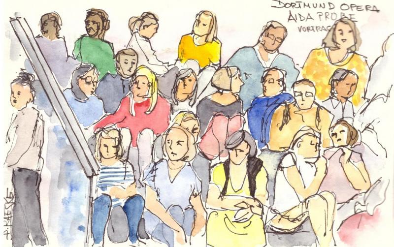 Spaß am Urban Sketching