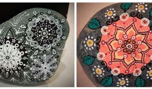 Mandala-Steine